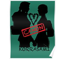 Official Korrasami CANON stamp Poster