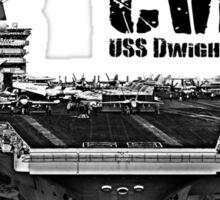 USS Dwight D. Eisenhower CVN-69 Sticker