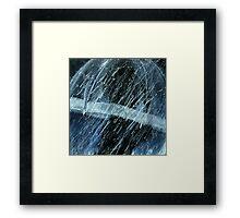 unbleached rain Framed Print