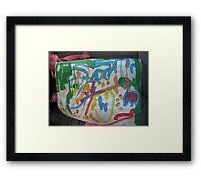 A HannahBanana Masterpiece!!!! Framed Print