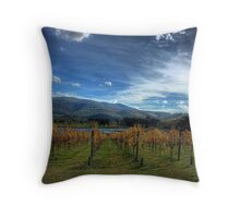 Vine Lines Throw Pillow