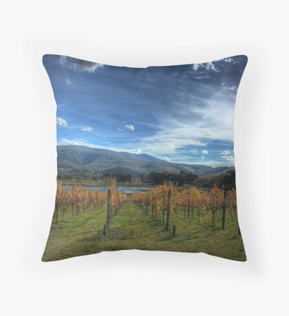 Vine Lines Throw Pillow