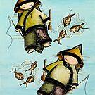 Fishing Mates by © Karin  Taylor
