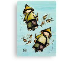 Fishing Mates Canvas Print