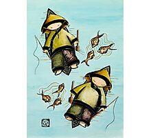 Fishing Mates Photographic Print