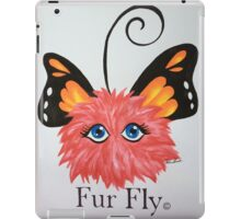 Red Fur Fly© with butterfly wings  iPad Case/Skin