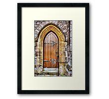 Heavenly Door Framed Print