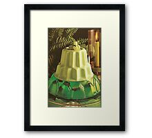 green jello. Framed Print