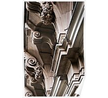 Brussels Architectural Detail Poster