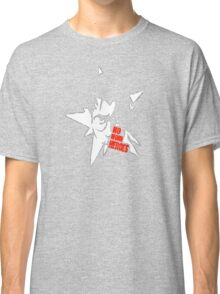 No More Heroes - Star (Red Text) Classic T-Shirt