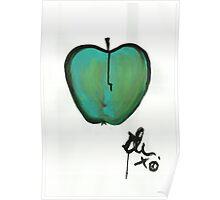 (green) Apple 1 Poster
