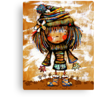 Winter Woolies Canvas Print