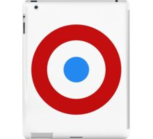 Roundel of the French Air Force, 1909-1940 iPad Case/Skin