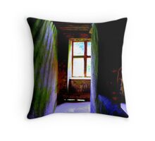 Spooky lighting Throw Pillow