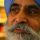 Mr Singh's Portrait by Ronald Rockman