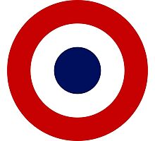 Roundel of the French Air Force Photographic Print