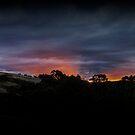 Sunset in Wilmot Sunday night by Josie Jackson