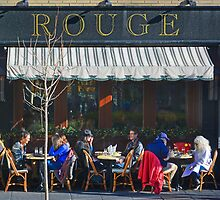 A Red Jacket at Rouge by cclaude