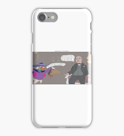Darkwing Duck + The Godfather iPhone Case/Skin