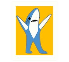 Katy Perry Half Time Performance Dancing Tsundere the Shark Art Print