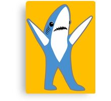 Katy Perry Half Time Performance Dancing Tsundere the Shark Canvas Print
