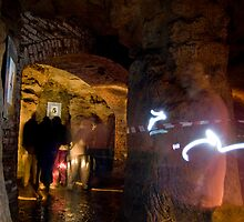 images in the caves by Mike McSweeney
