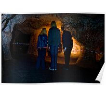 exploring redcliffe caves Poster