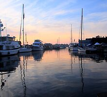 WaterColor Sunrise II by Adam Petty