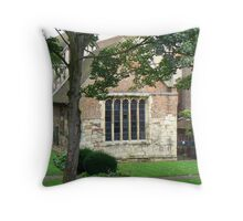 York's Merchant Adventurers' Hall Throw Pillow