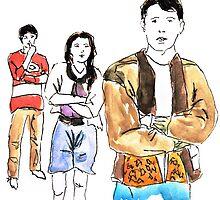 Ferris Bueller by Jenna Dickinson