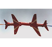 The Red Arrows - Close Pass Photographic Print