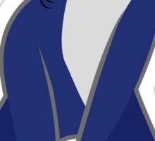 Katy Perry Dancing Tsundere the Shark - Patriots Logo Style Sticker
