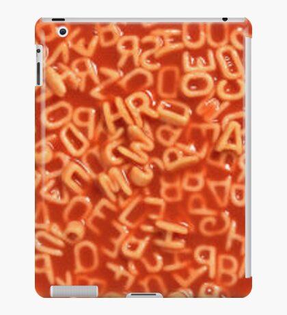 Alphabet Soup iPad Case/Skin