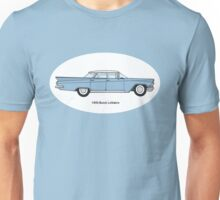 1959 Buick LeSabre - Wedgewood Blue Unisex T-Shirt