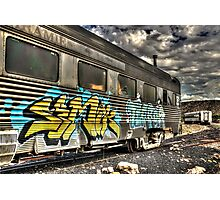 Locomotive Art Photographic Print