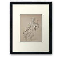 Figure Drawing Framed Print