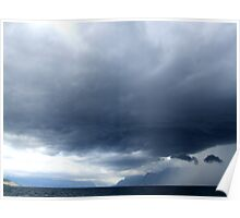 Storm Over Evian Poster