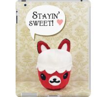 Red Velvet Cupkit iPad Case/Skin