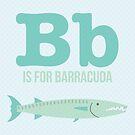B is for Barracuda by Amy Huxtable