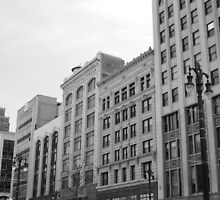 Woodward Avenue, Detroit by MBehl
