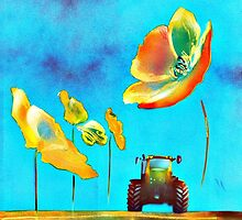 buttercup tractor by mudzco