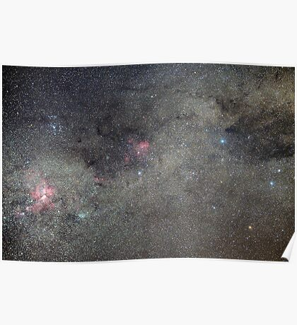 Milky Way in Crux and Carina Poster