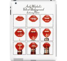Andy Warhol Lips iPad Case/Skin