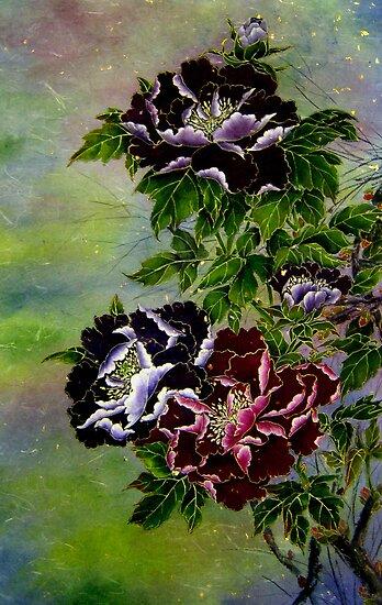 Tree Peony by Rayne van Sing