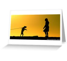 #540     Tension Greeting Card