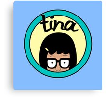 Tina Canvas Print