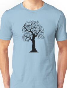 black tree  Unisex T-Shirt