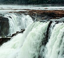 Iguazu Falls - Across the Top  by photograham