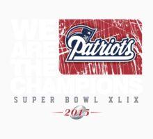 Patriots super bowl champions Kids Clothes