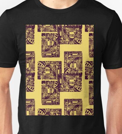 overall print of the fountain at pratt Unisex T-Shirt